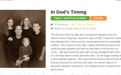 Adopting from Poland – Parents' Stories