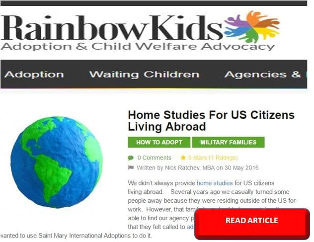 Adoption Article for Home Study