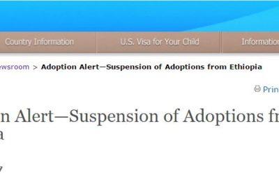 Ethiopia Adoption Notice