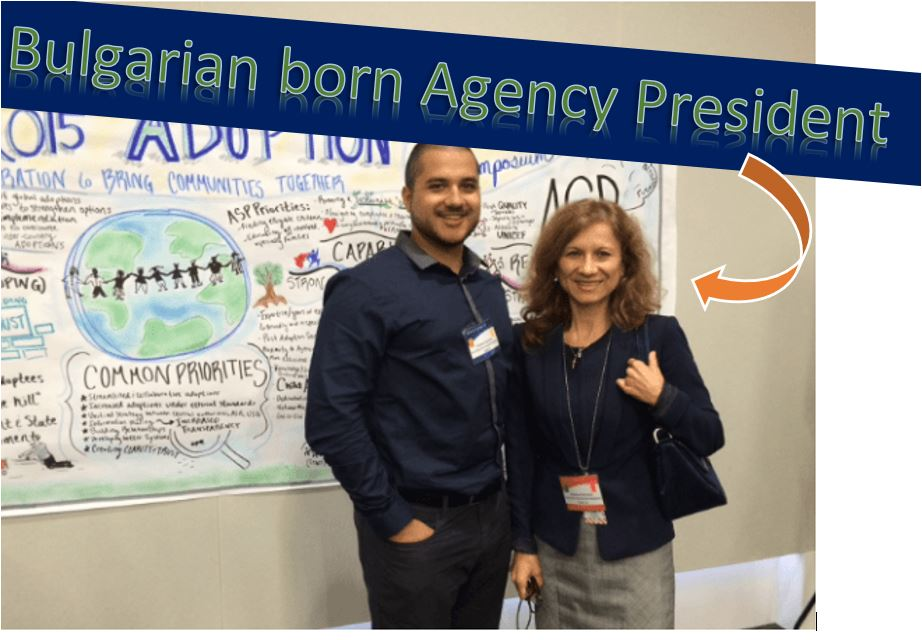 Bulgarian Born Agency President