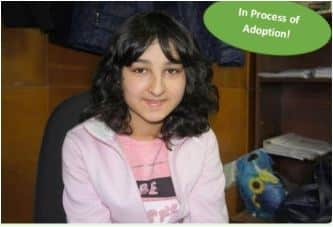 Madelyn is in process of being adopted from Bulgaria.