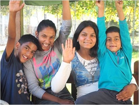 Siblings waiting to be adopted internationally.